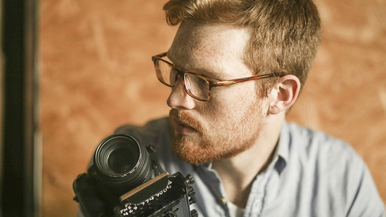 Photographer Portrait - student project