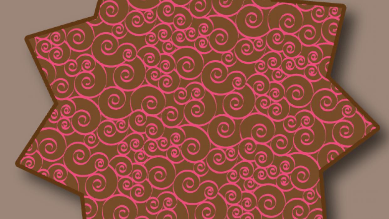 Starburst with spirals - student project