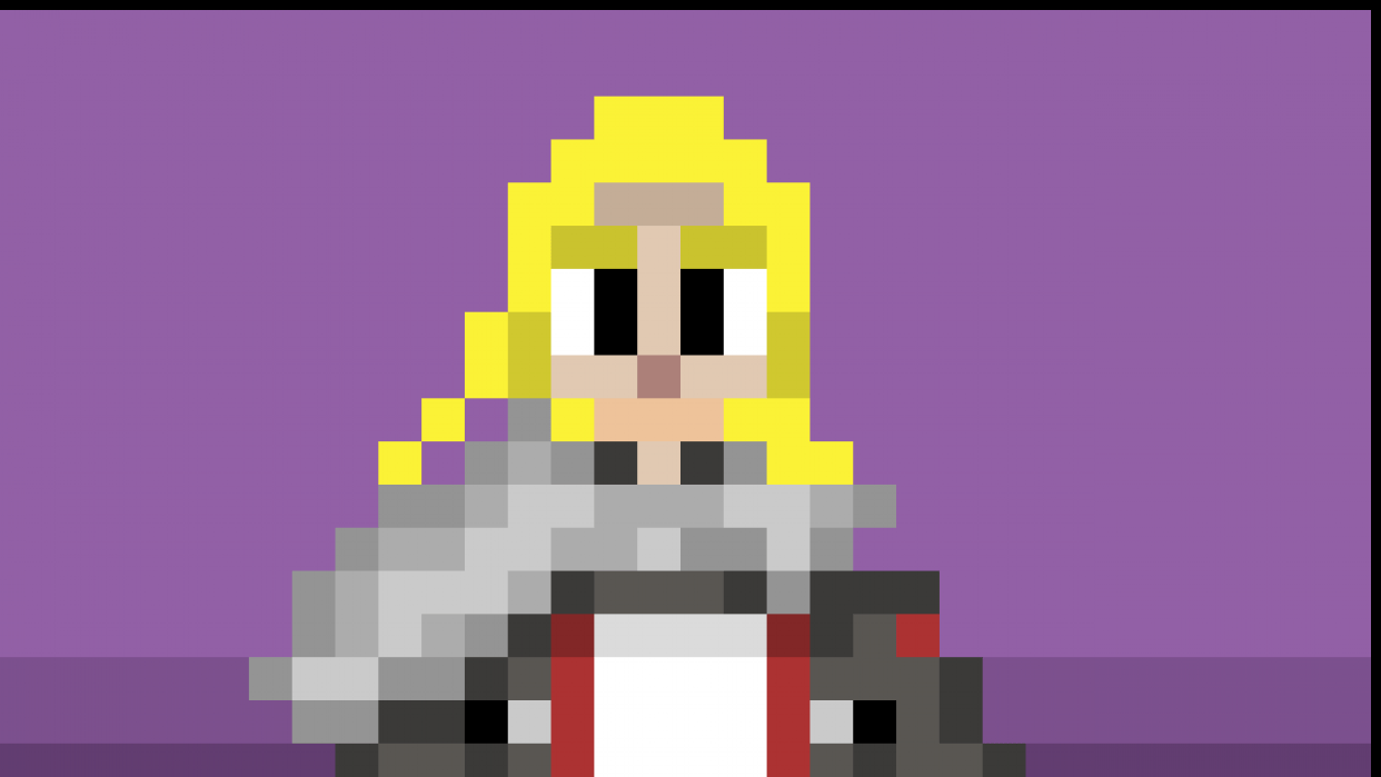 She is a Paladine - student project