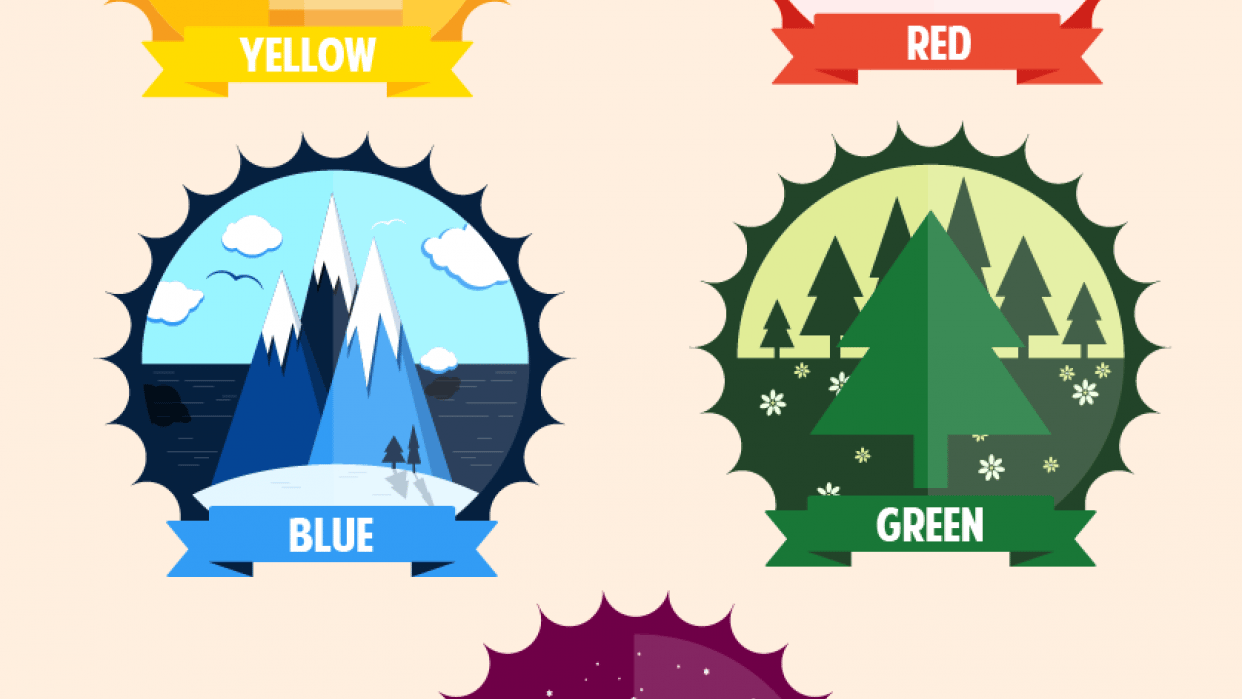 Illustrate the Colors - student project