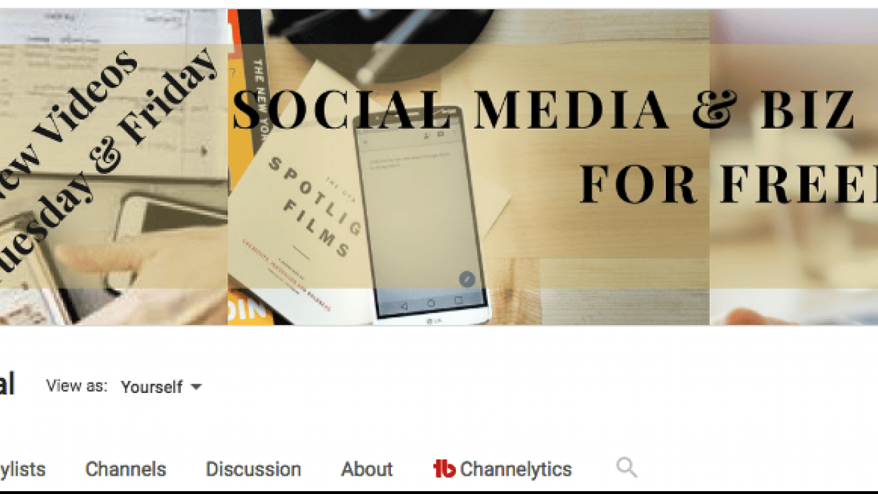 Channel Banner, Optimizing, and Consistency - student project