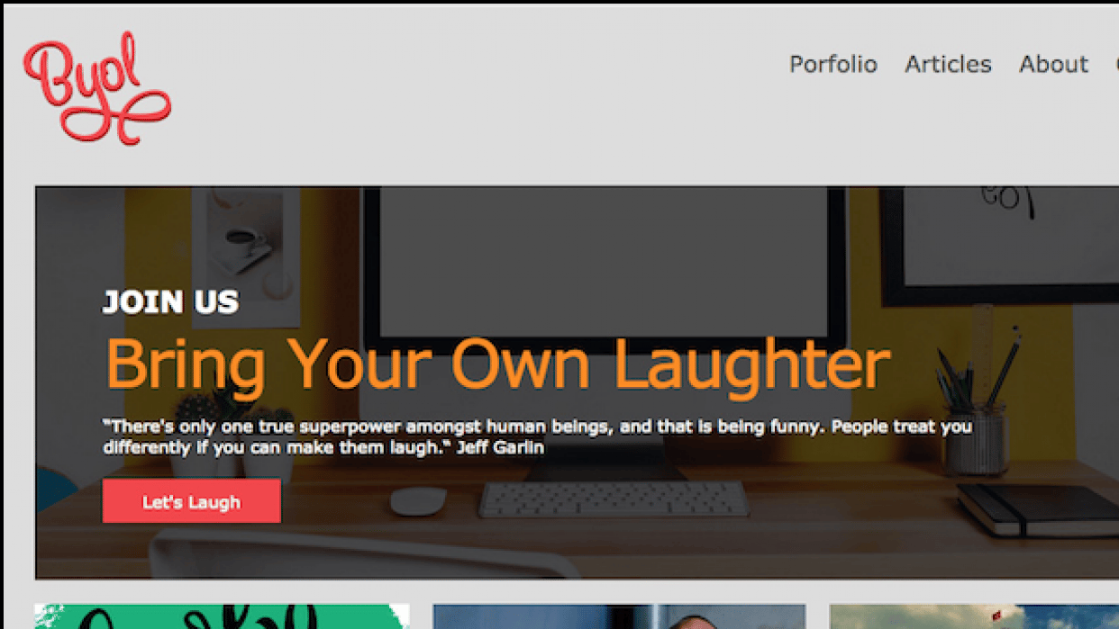 Bring Your Own Laughter - student project