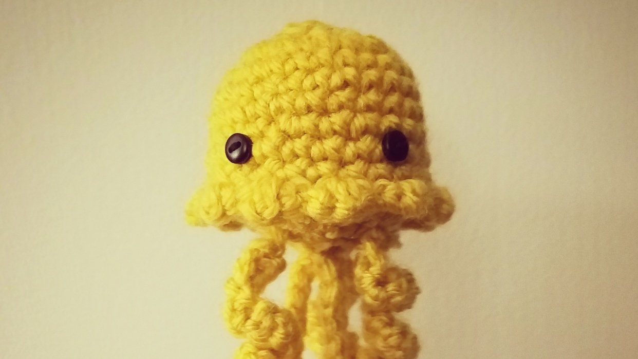 Crocheted Jellyfish! - student project