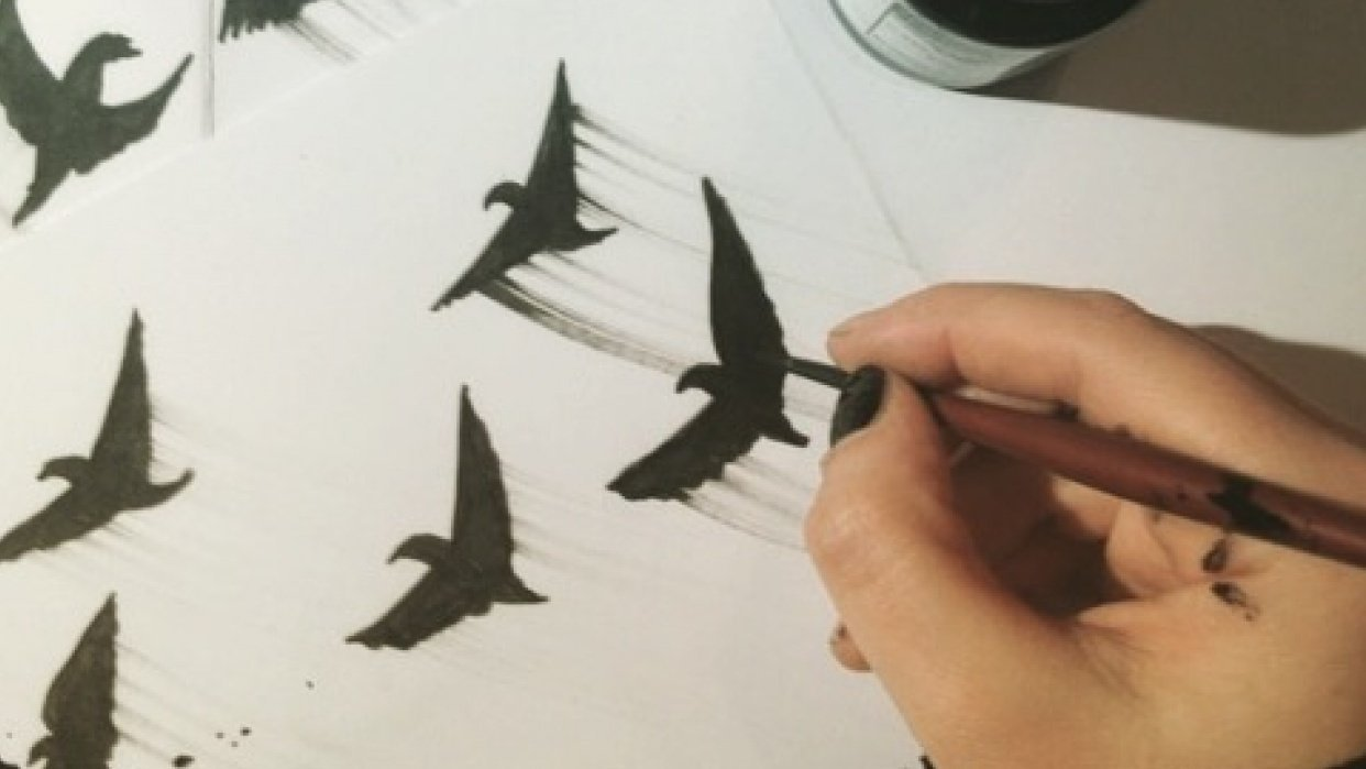 Flying Сreatures - student project