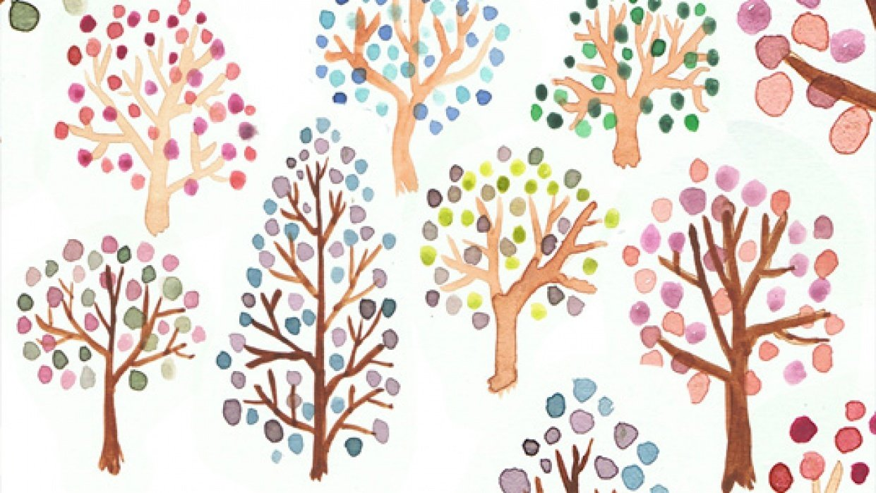 Watercolour story: Explore with colour - student project