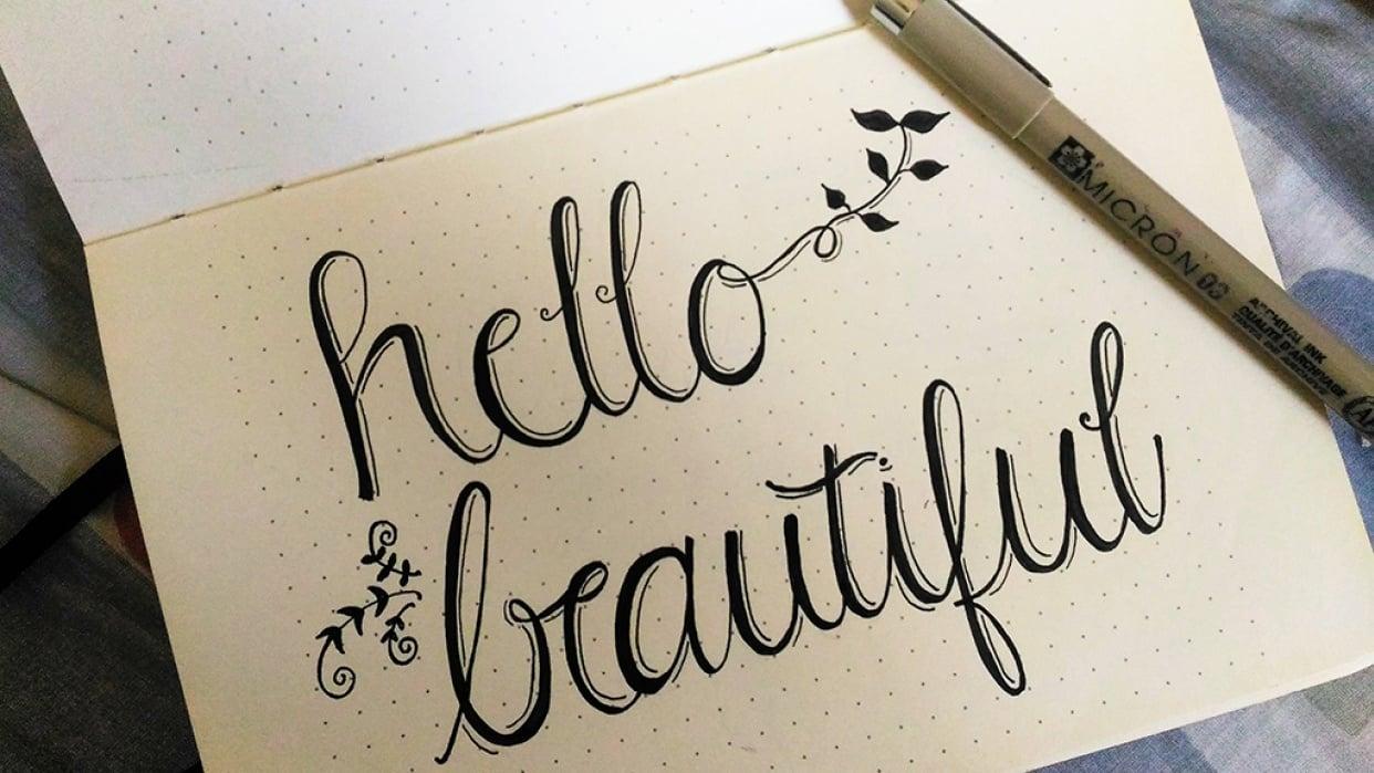 Hello, beautiful! - student project