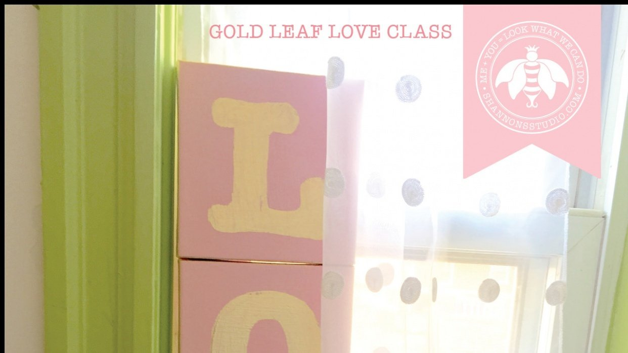 Gold Leaf Love - student project