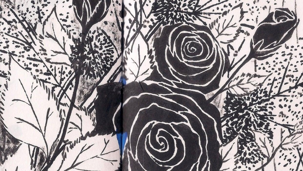Rose Bouquet - student project