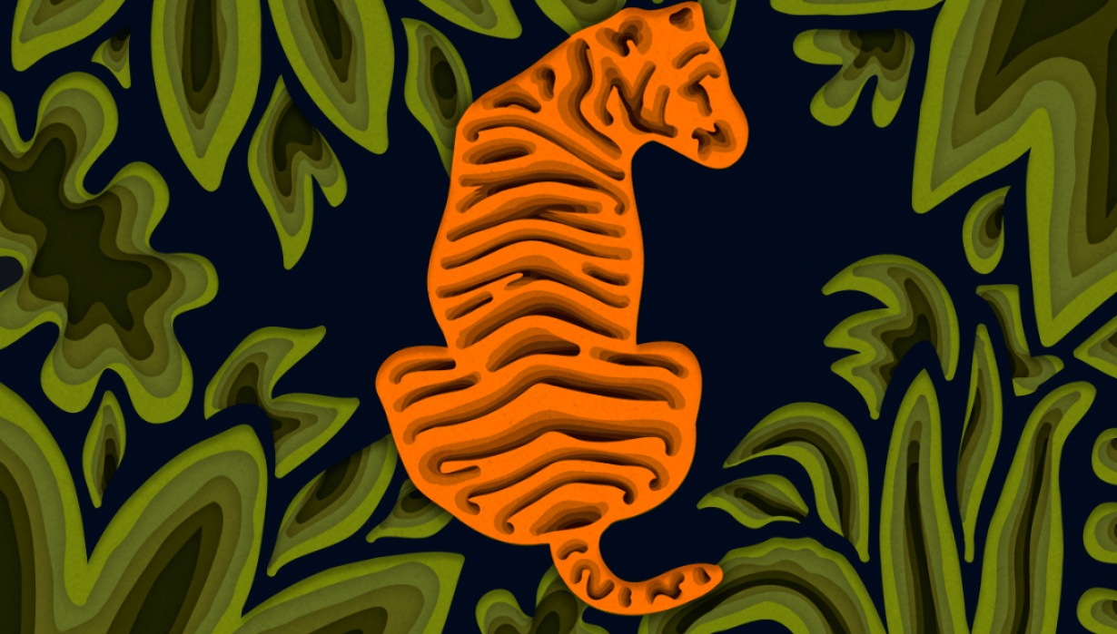 Tiger in the Jungle - student project