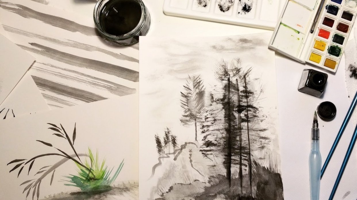 Project 1-3 - Expressive Brushwork - student project