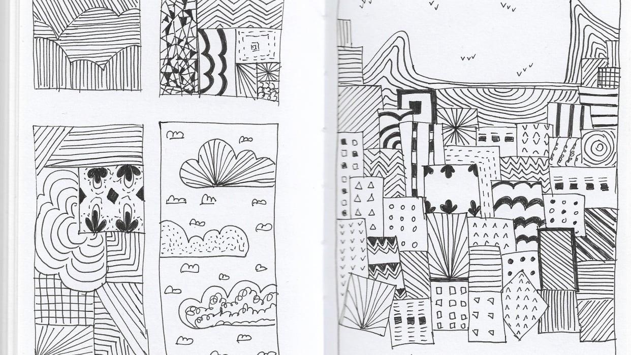 Favela Doodle - student project