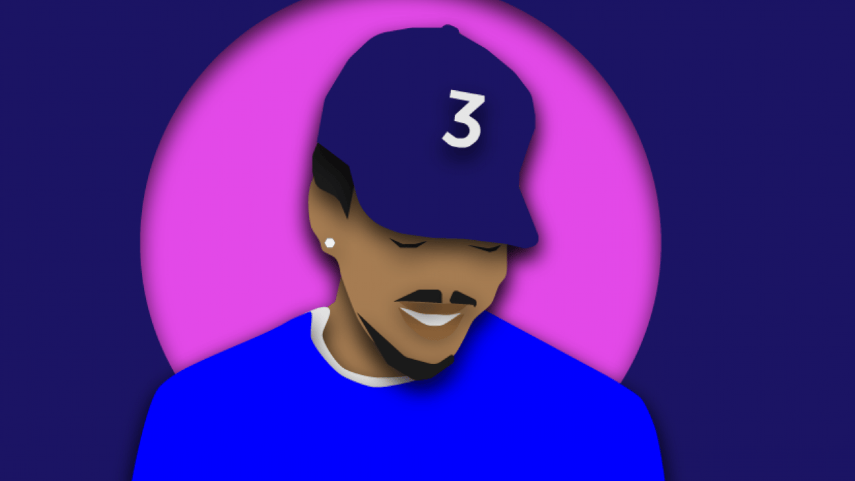 Chance the Rapper Cover Art Layers - student project