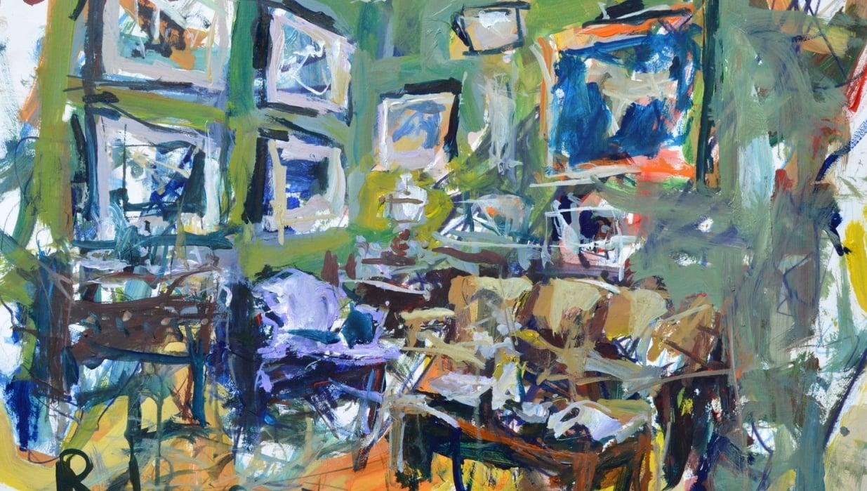 Interior Still Life Painting - student project