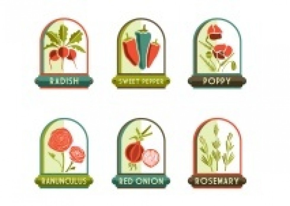 Garden Markers - student project