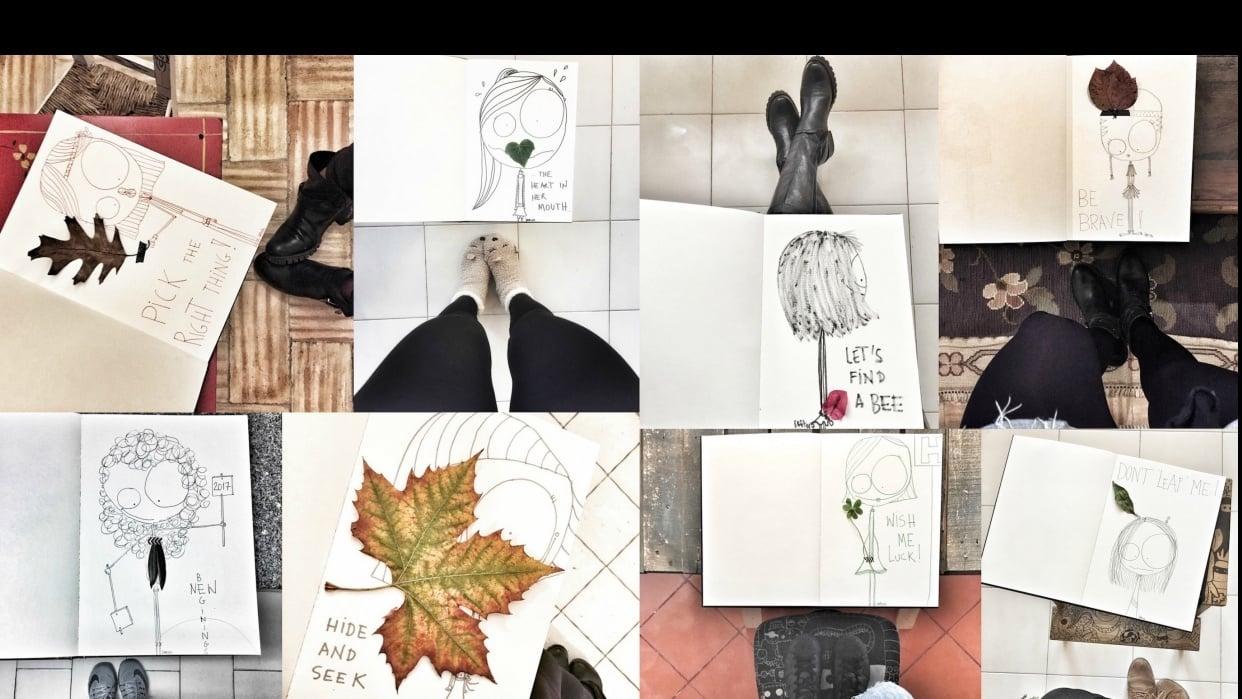 sketchbook magic 1 - student project