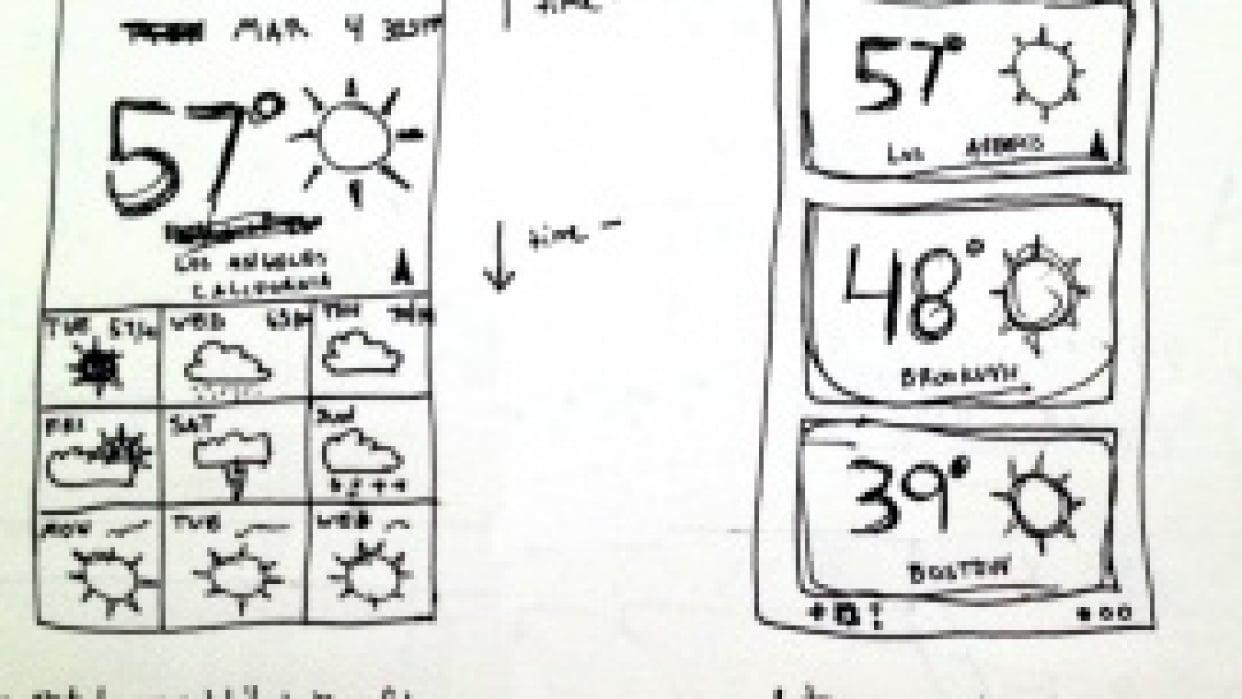 Nate Tharp's temp˚ app - student project