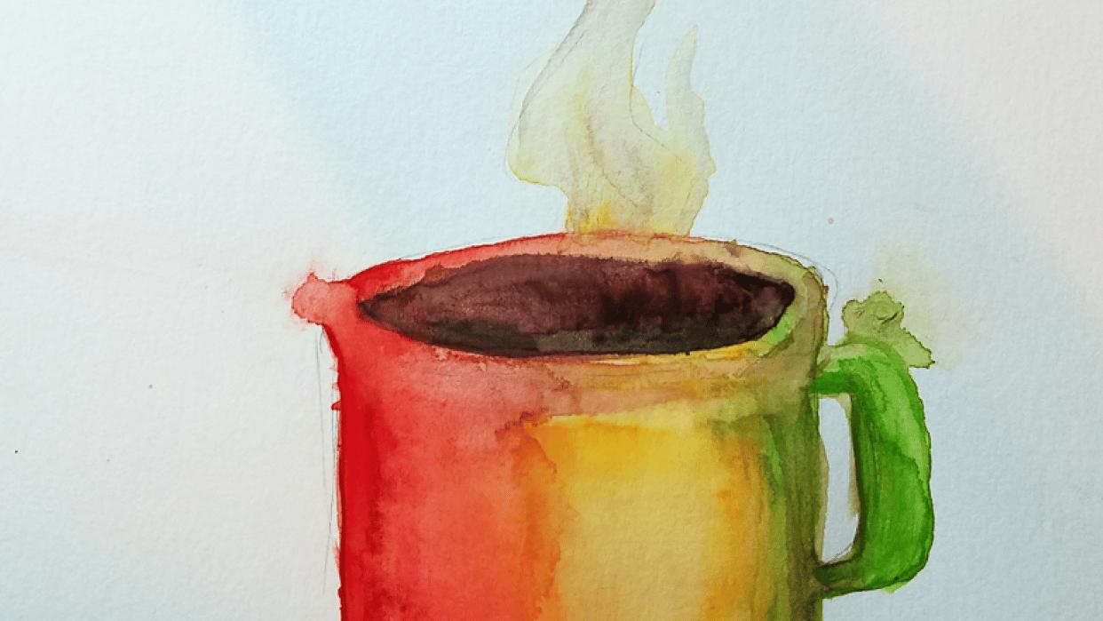 Final Project: Rainbow Mug - student project