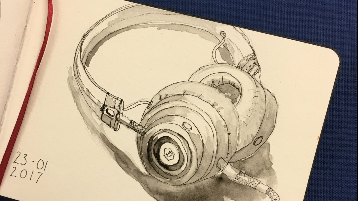New sketchbook and 365 challenge! - student project