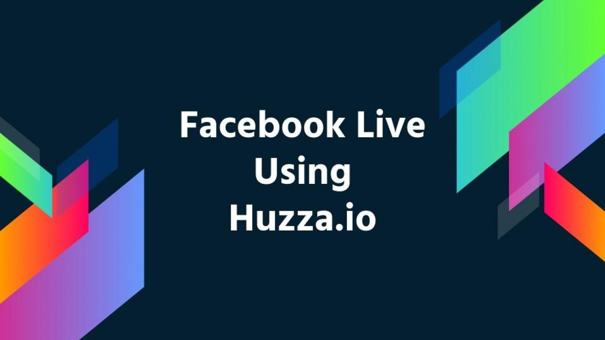 Facebook Live using Huzza.io - student project