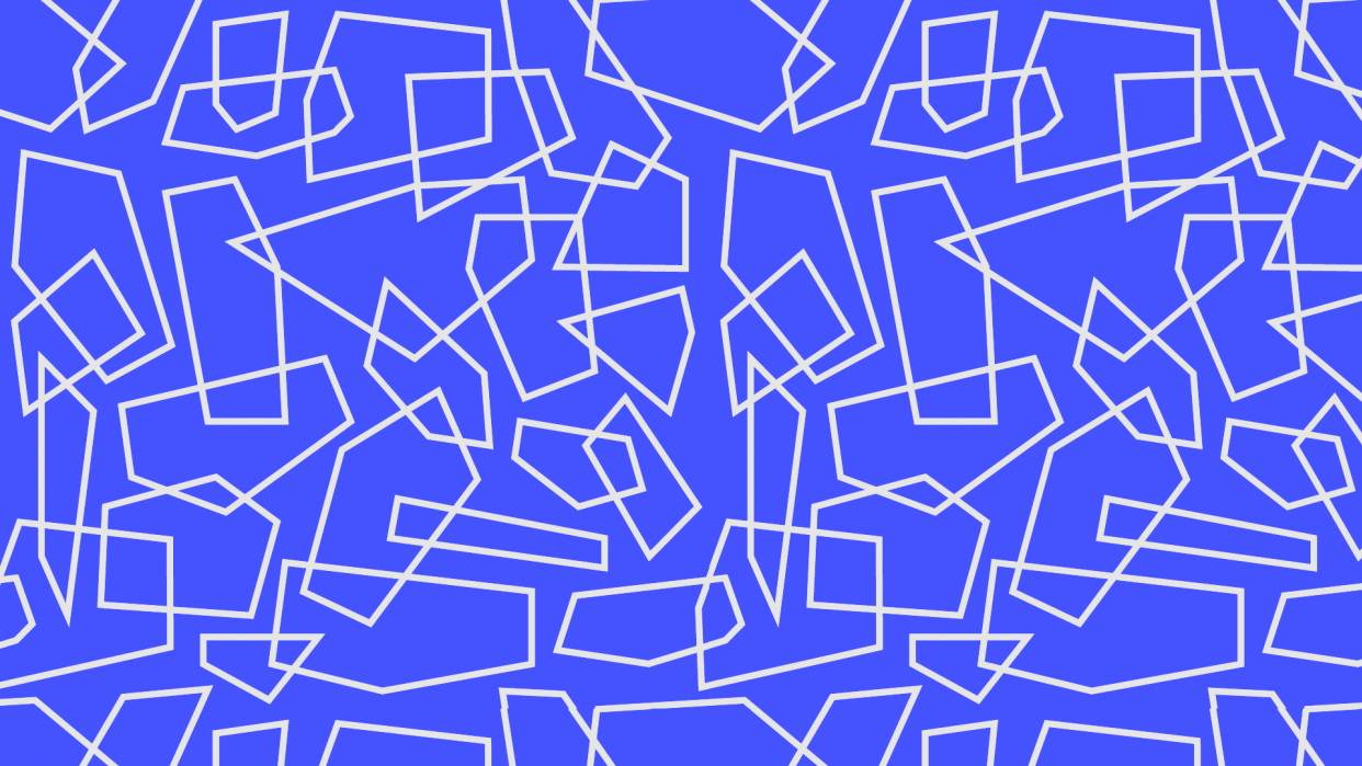 Creating Trendy Abstract Patterns in Illustrator - student project