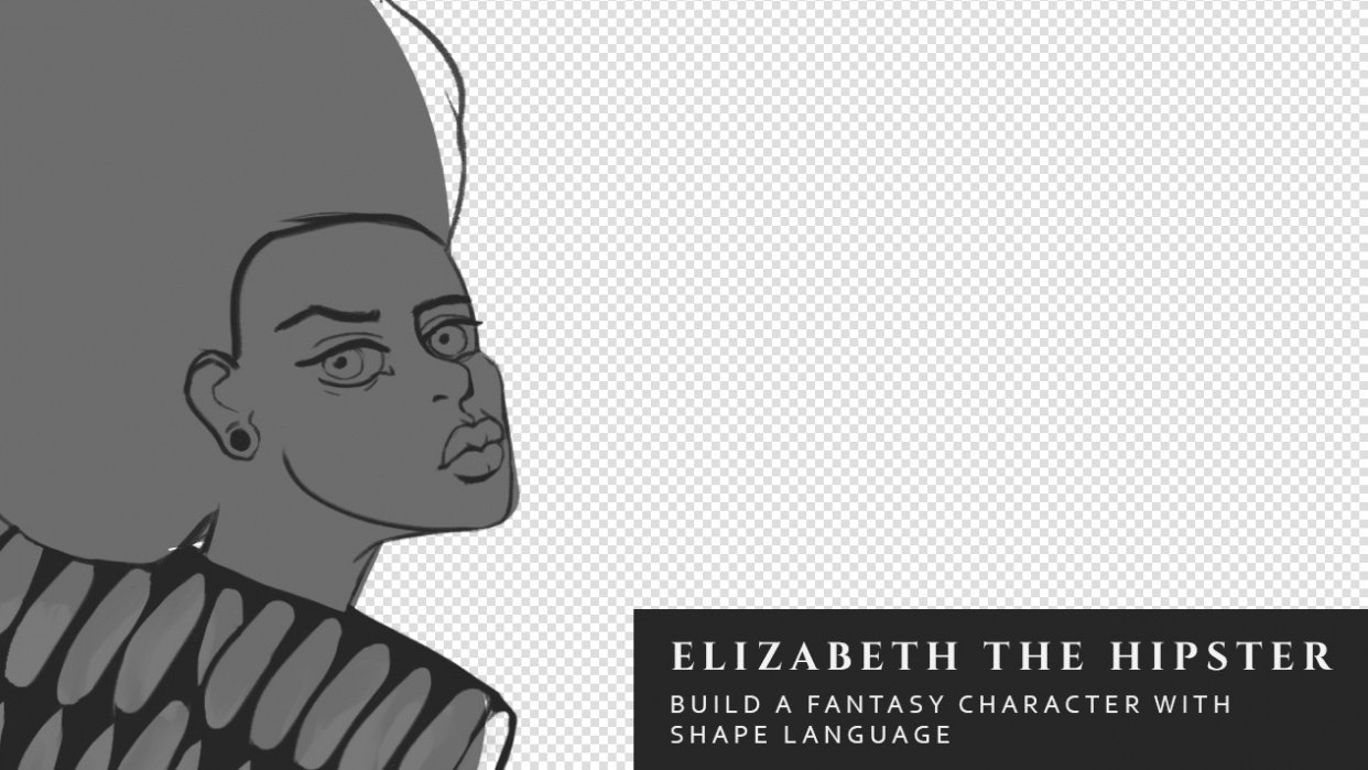 Elizabeth the Hipster - student project