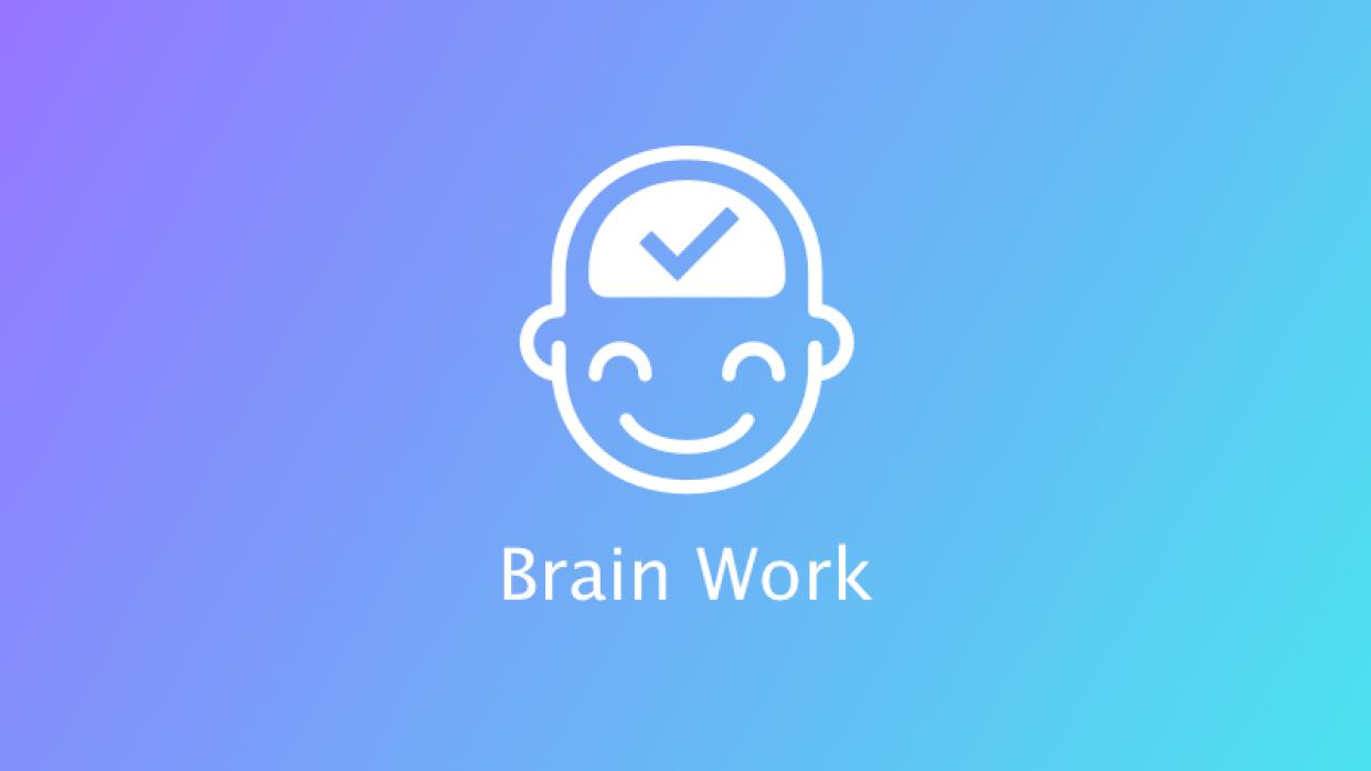 Brain Work - student project