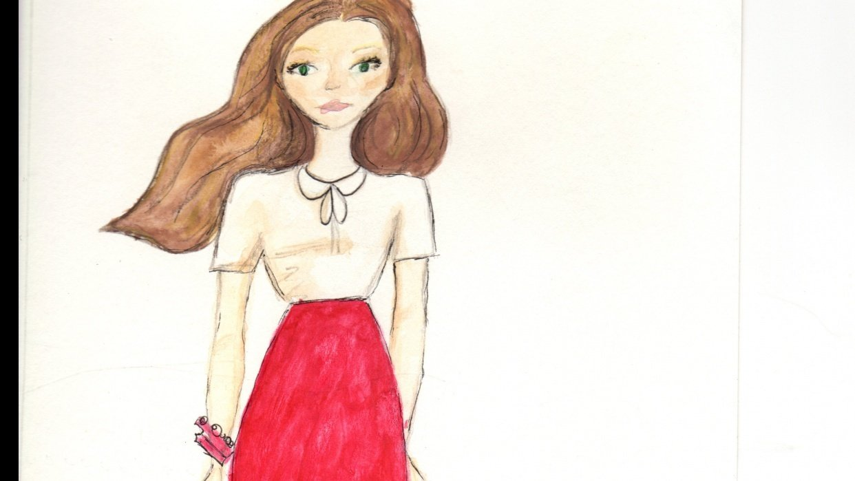 Fashion Illustration for Beginners  - student project