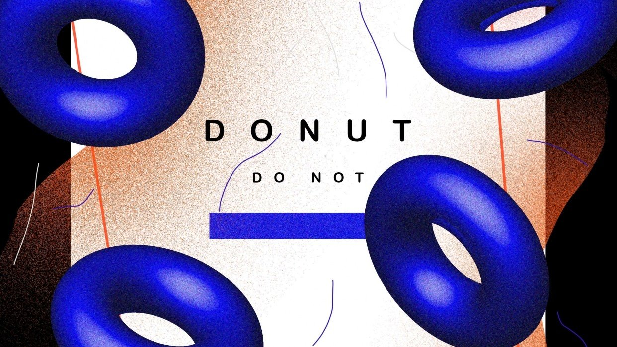 donut - student project
