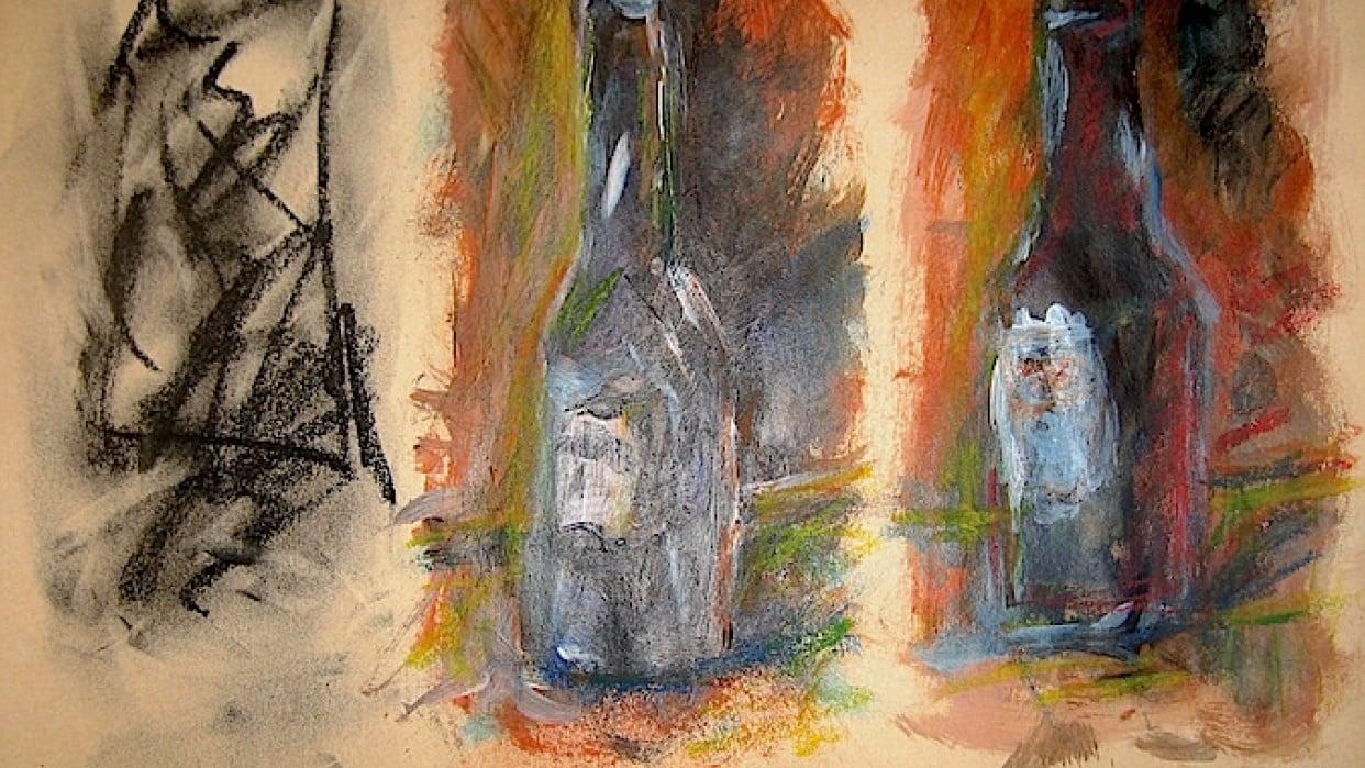 Wine Bottle - student project