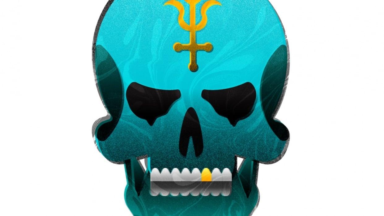 Alchemy Skull - student project