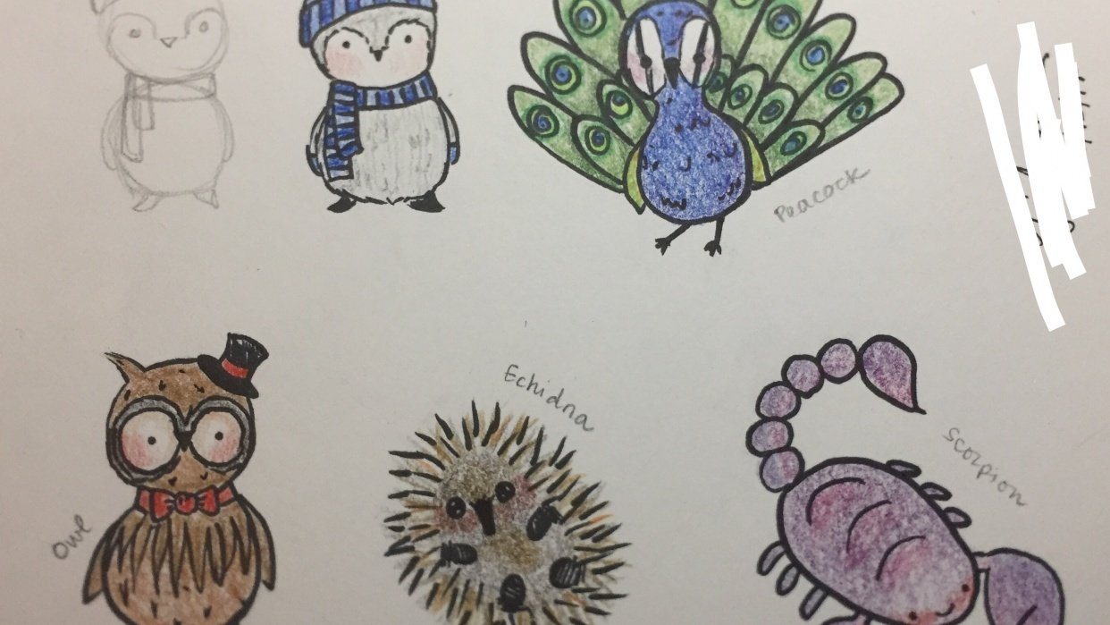 Lots of cuties! - student project