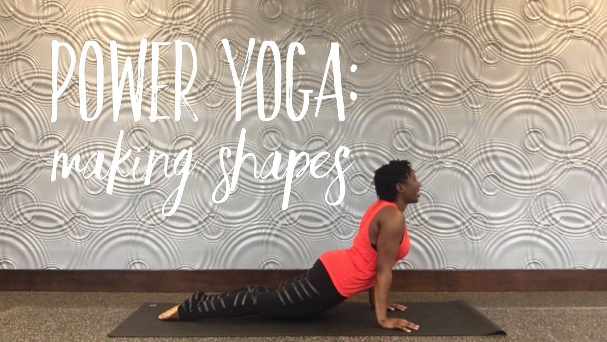 Sample Project - Power Yoga: Making Shapes - student project