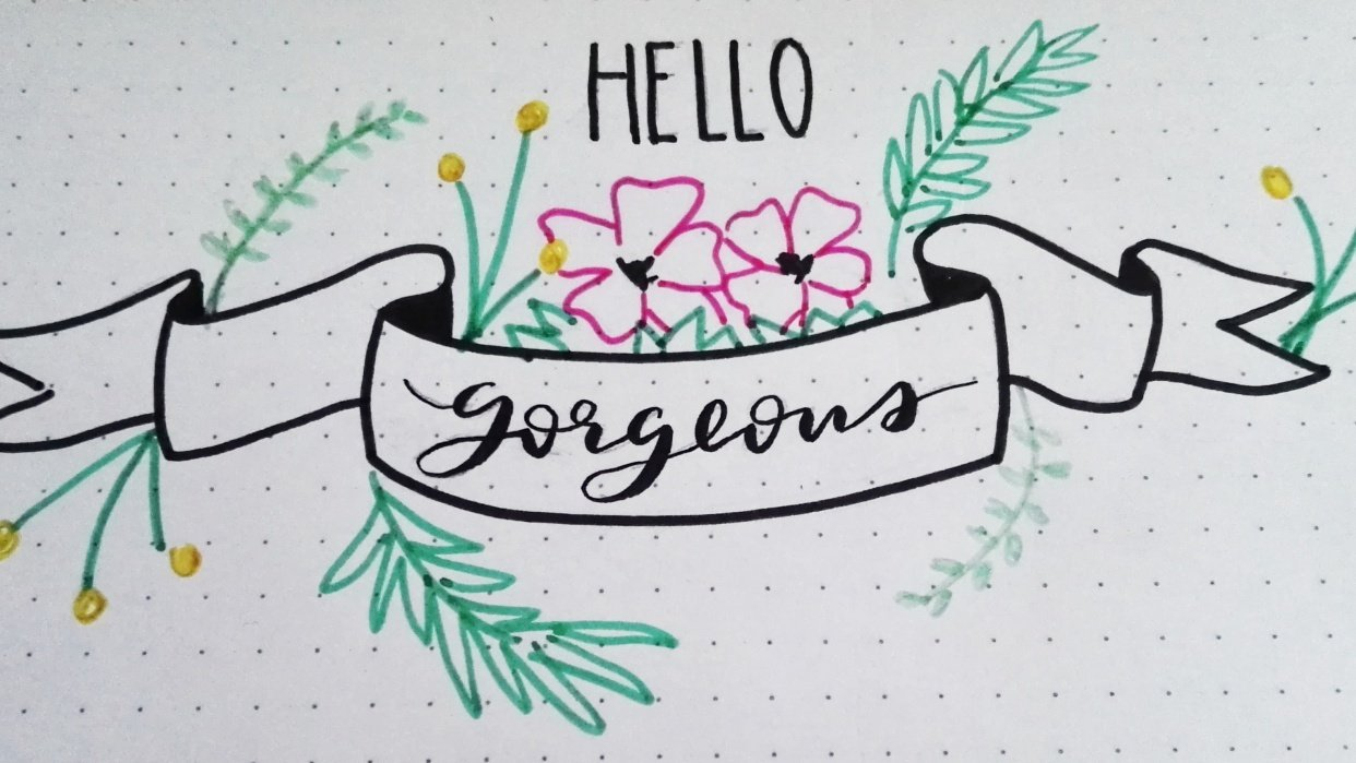 Hello gorgeous - student project