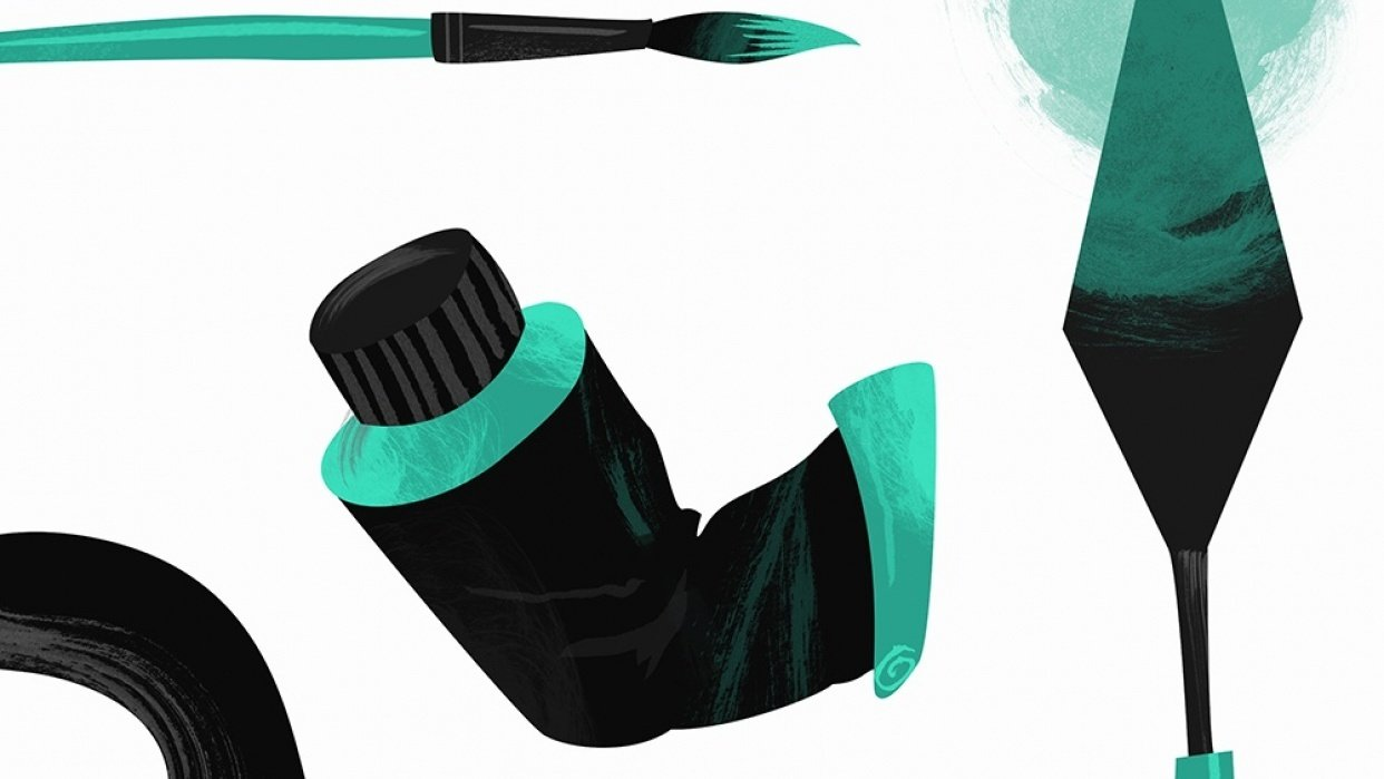 Painting tools - student project
