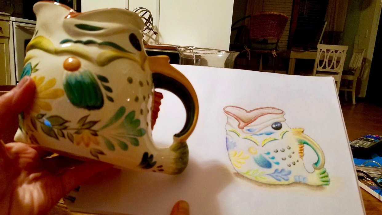 Fish Pitcher - student project