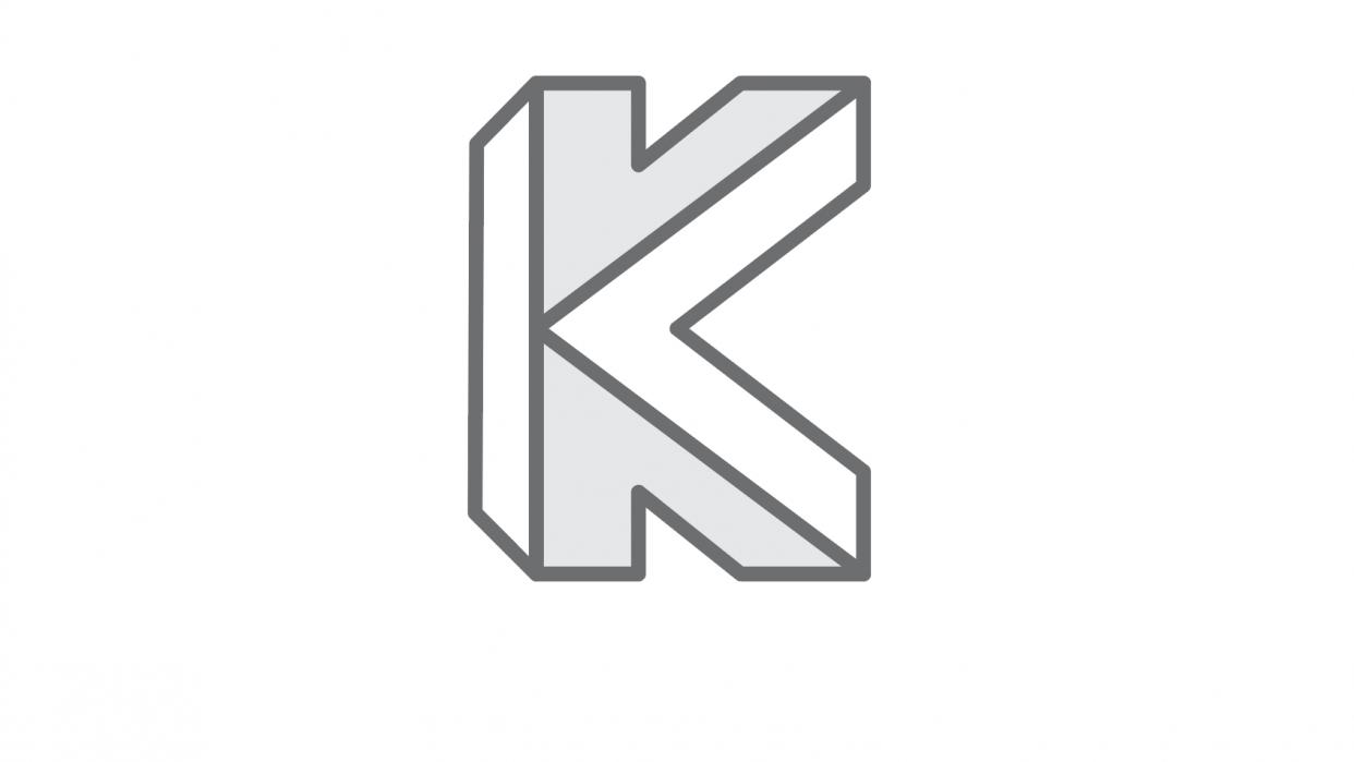 KV Monogram - student project