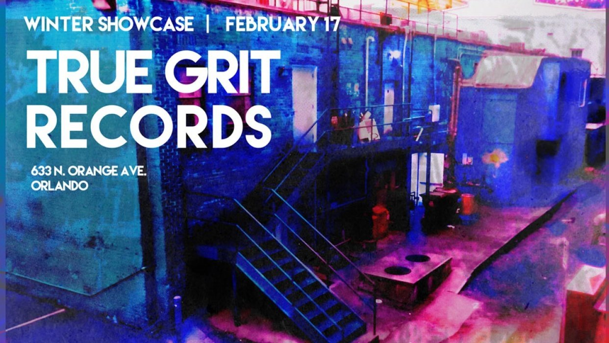 True Grit Gig Poster - student project