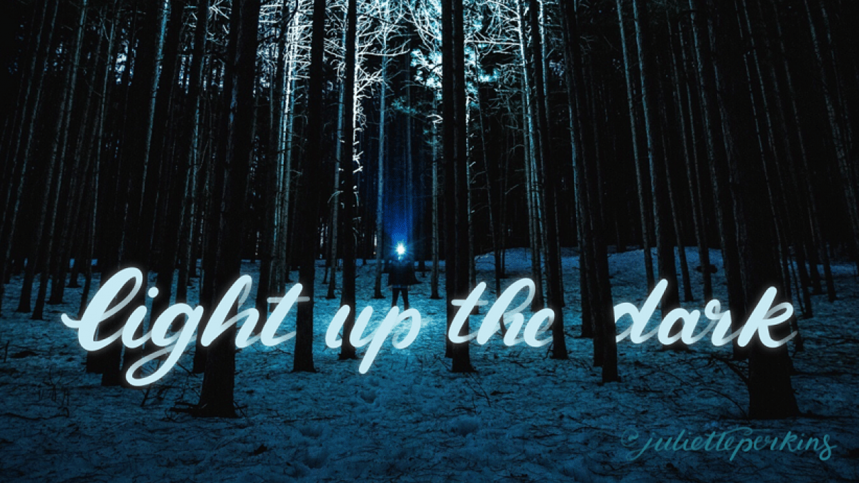 Light up the dark! - student project
