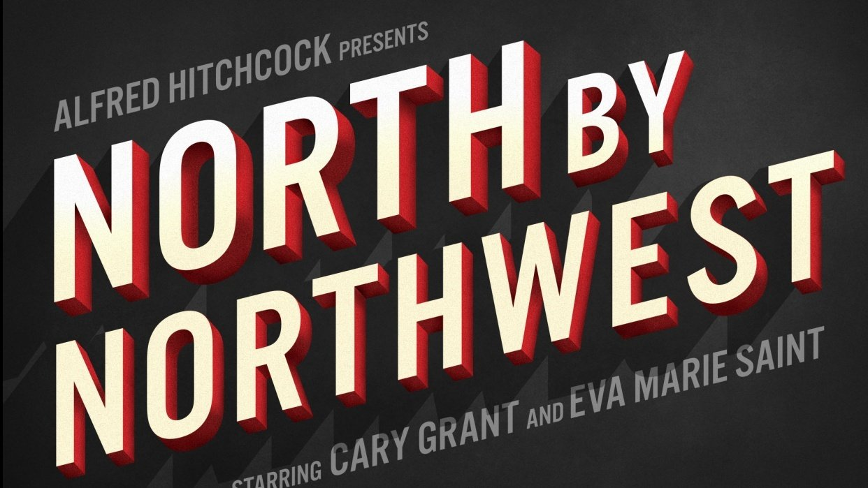 North By Northwest Movie Title - student project