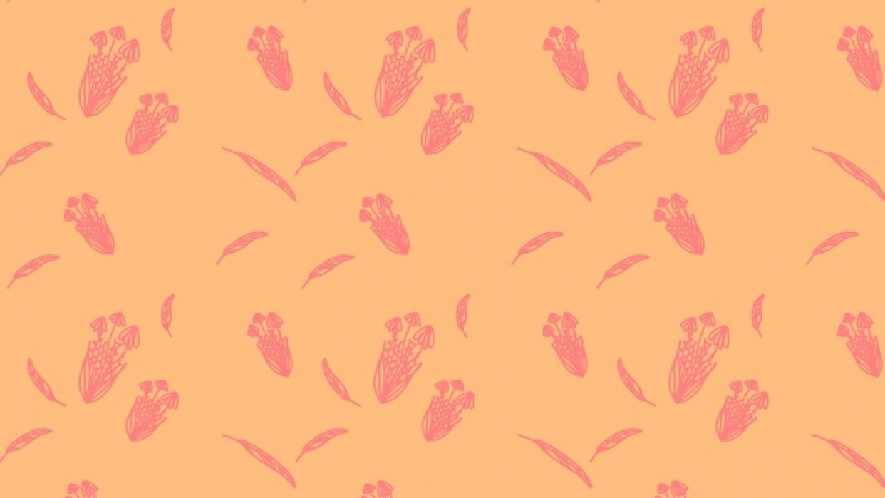 Florals Pattern  - student project