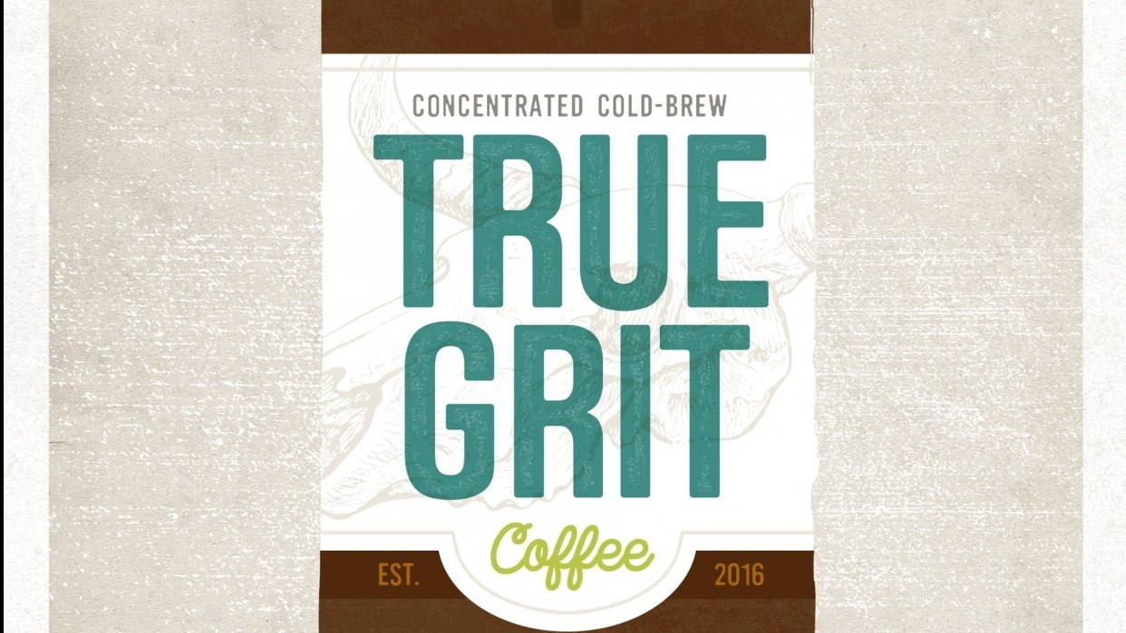 True Grit Coffee - student project