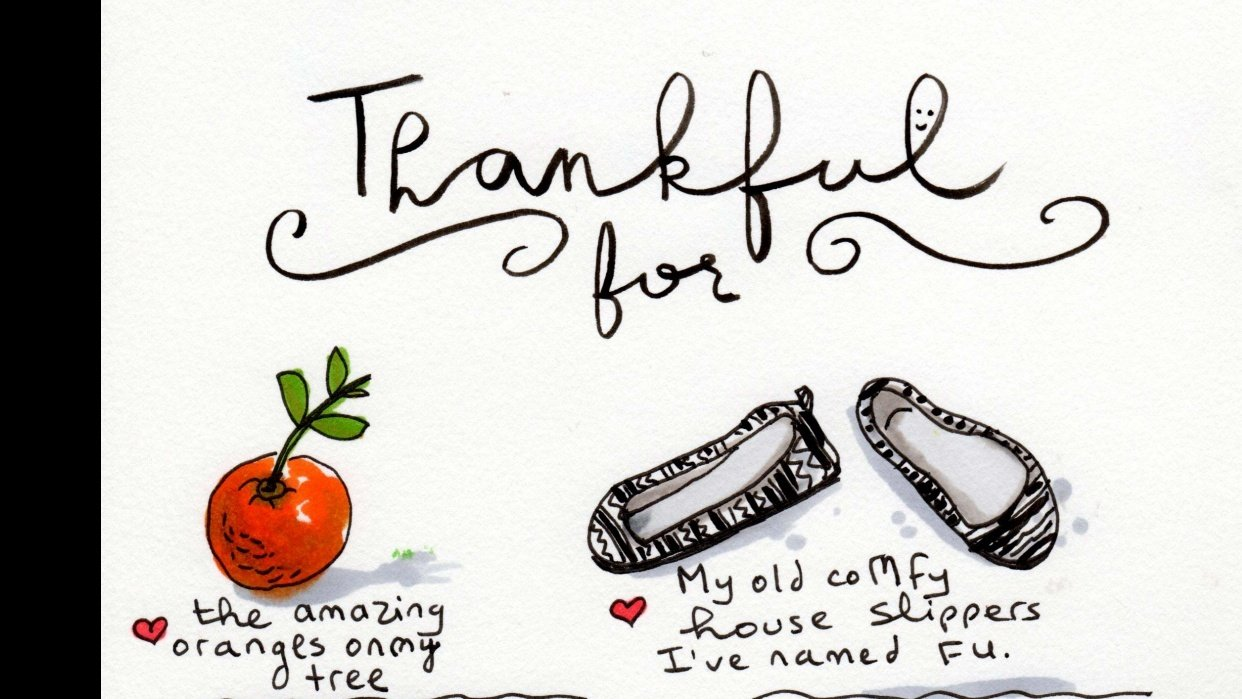 Thankful Journal - student project
