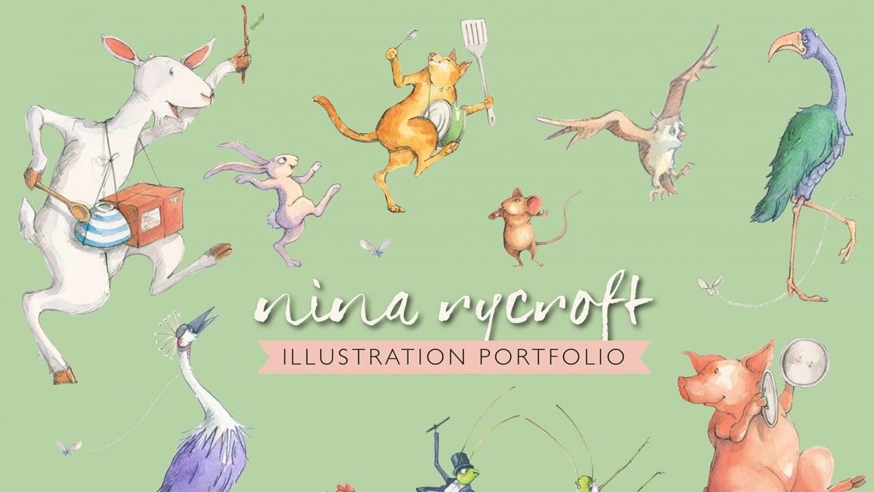 My Illustration Portfolio - student project