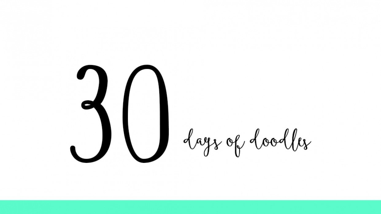 30 Days of Doodles (updated) - student project