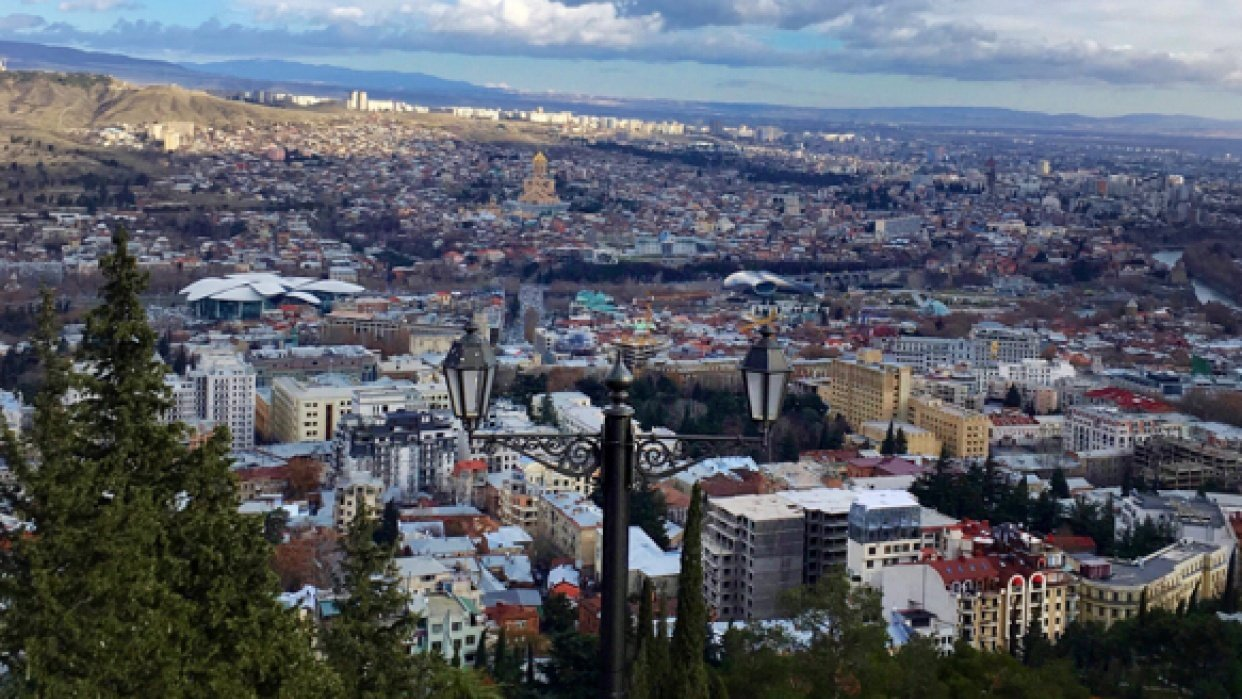 Wanders around Tbilisi - student project