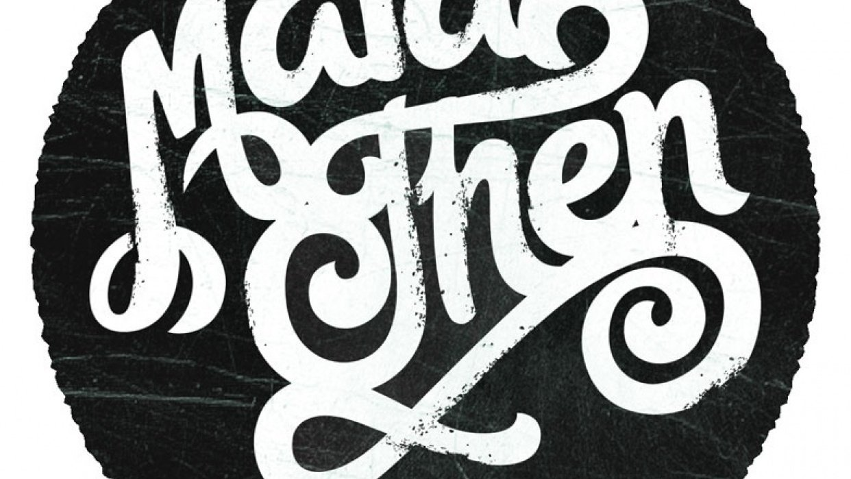 Maia Hand Drawn Type - student project