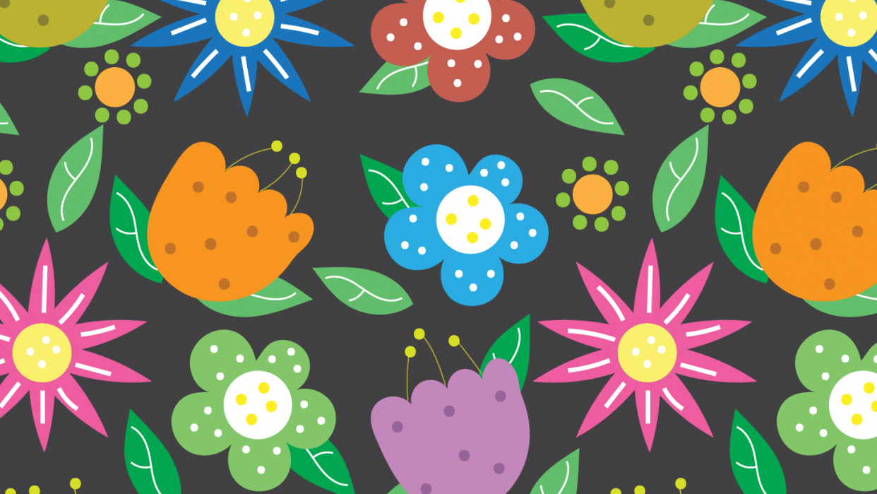 Citrus and Flowers - student project