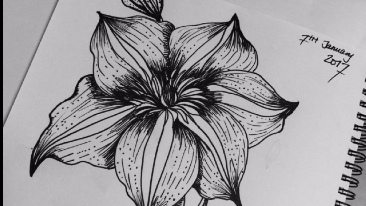 Pen Floral - student project