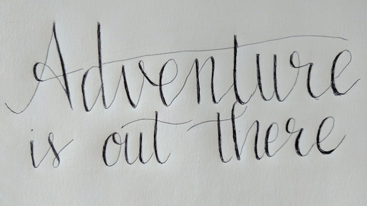 Adventure is out there - student project
