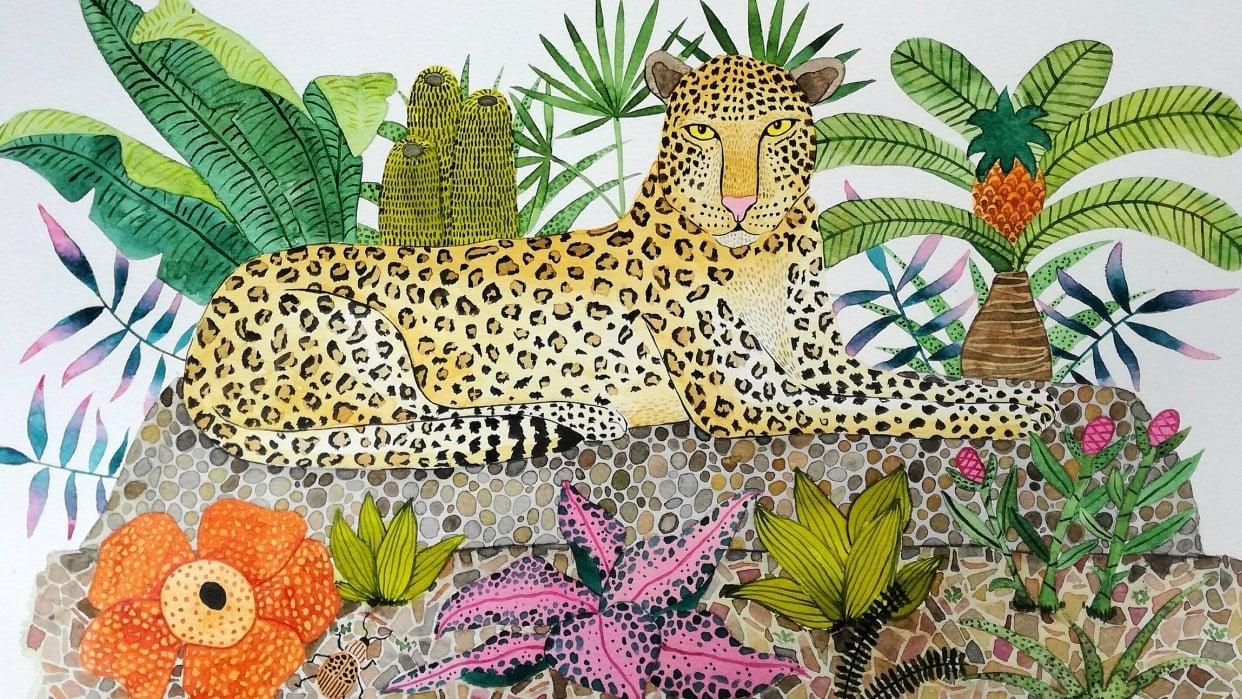 Jungle Mood - student project
